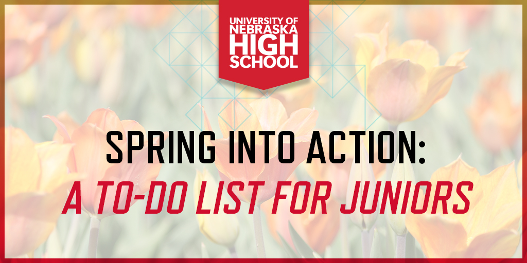 Spring into Action: A To-Do List for Juniors
